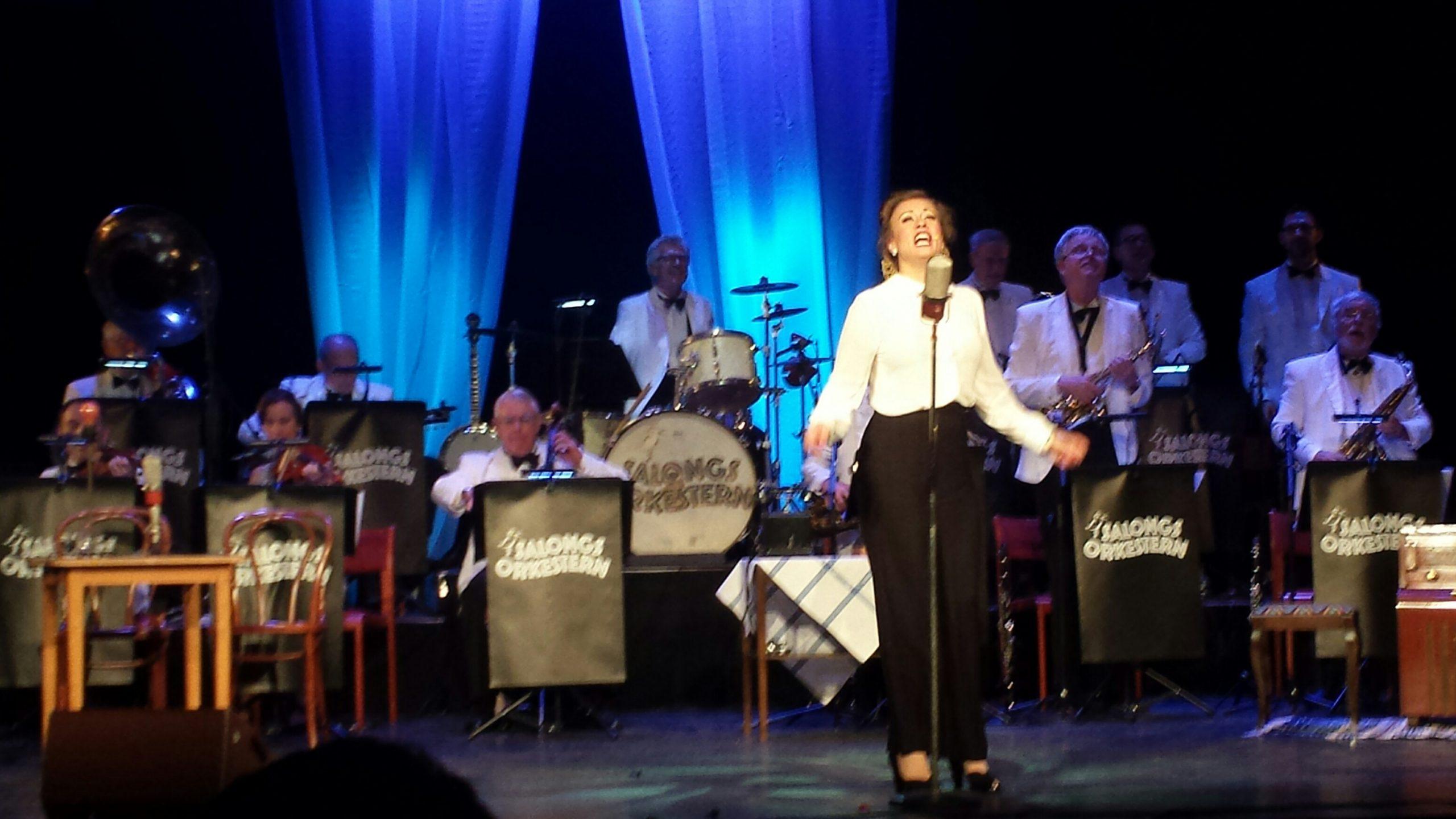 Fullsatt fyrtioårsjubel med Salongsorkestern