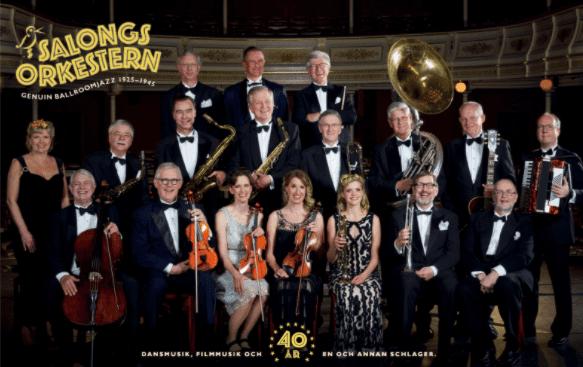 Salongsorkestern 40 år!